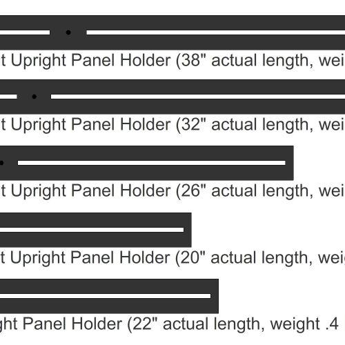 UprightPanelHolders