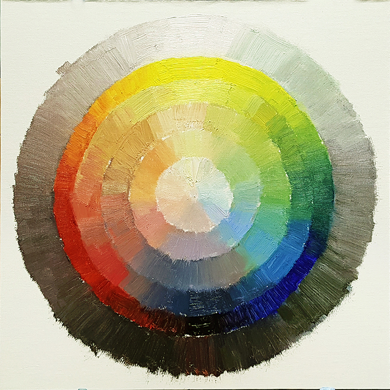 07. Limited Color Palette and Paint Your Own Color Wheel - Prolific ...